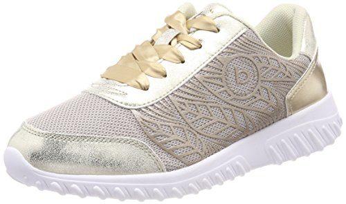 Bugatti Damen 421455015969 Sneaker, Gold (Gold/Metallic), 38 EU