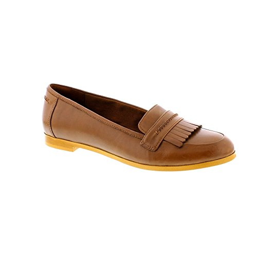 Clarks Andora Crush Womens Lässig Slip-On-Schuhe 7 UK/41 EU Tan