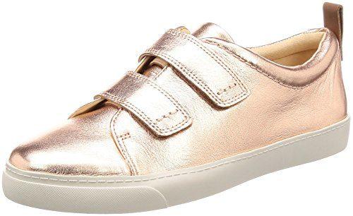 Clarks Damen Glove Daisy Sneaker, Gold (Rose Gold), 39 EU