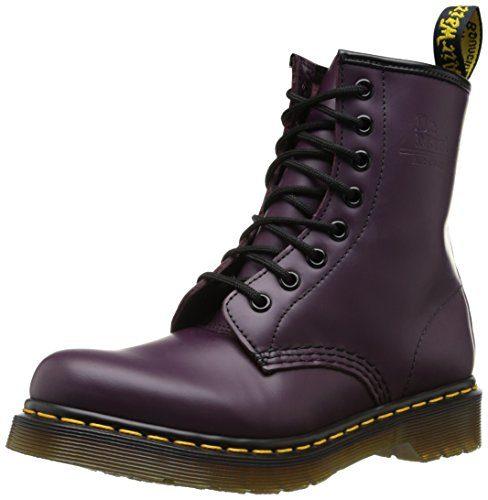 Dr. Martens 1460Z DMC SM-PU, Damen Stiefel, Violett (Purple), 38 EU