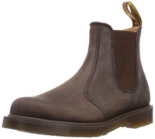 Dr. Martens 2976 Chelsea Boot BLACK, Unisex-Erwachsene Chelsea Boots, Braun (Gaucho), 39 EU