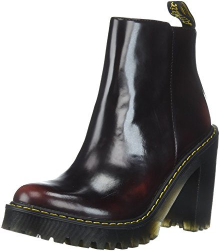 Dr. Martens Damen Magdalena Chelsea Boots, Rot (Cherry Red 600), 43 EU