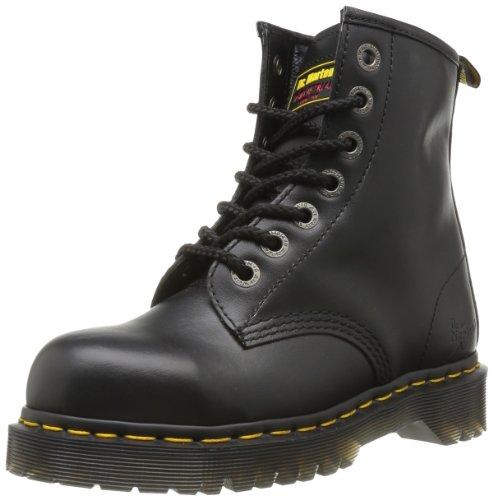 Dr. Martens Original 7B10 12231001, Unisex - Erwachsene Stiefel, schwarz, 38 EU/5 UK