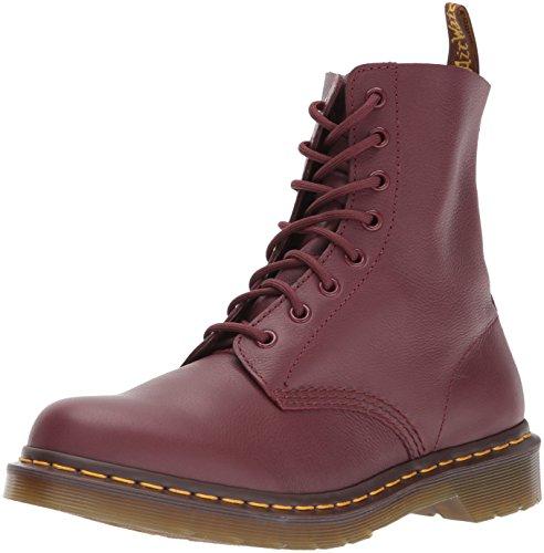 Dr. Martens PASCAL Virginia CHERRY RED, Damen Combat Boots, Rot (Cherry Red), 36 EU (3 Damen UK)