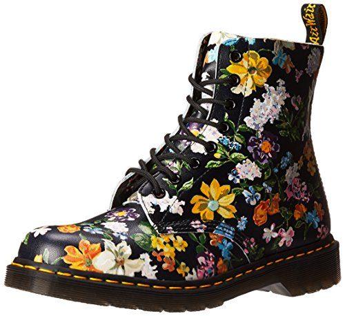 Dr. Martens Pascal DF Black Darcy Floral 22728001, Boots - 37 EU