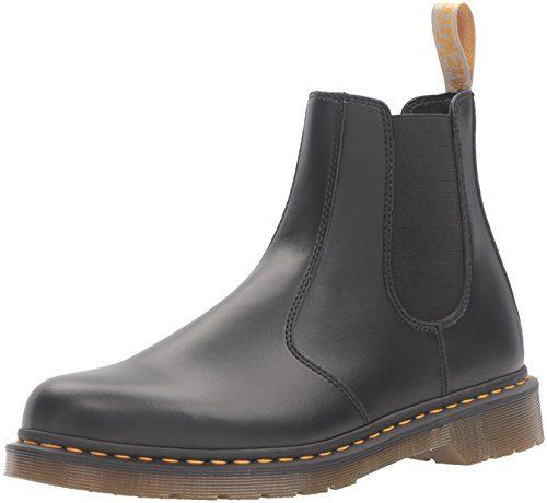 Dr. Martens Unisex-Erwachsene 2976 Vegan Chelsea Boots, Schwarz (Black), 37 EU