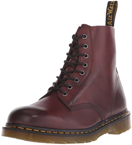 Dr. Martens Unisex-Erwachsene Pascal Cherry Red Antique Temperley Stiefel, Rot (Cherry Red), 36 EU
