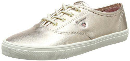 GANT Footwear Damen New Haven Sneaker, Gold (Rose Gold), 40 EU
