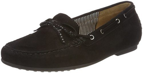 Gabor Shoes Damen Casual Slipper, Schwarz (Schwarz), 39 EU