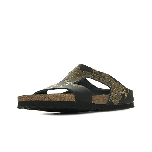 Papillio Charlize, Damen Sandalen, Schwarz (Ornaments Black/Gold Hex Ornaments Hex), 37 EU