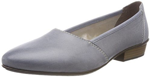 Rieker Damen 58250 Slipper, Blau (Azur/Blue), 38 EU