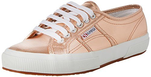 Superga 2750 Cotmetu, Damen Low-Top Sneaker, Gold (Rose Gold), 40 EU (6.5 UK)