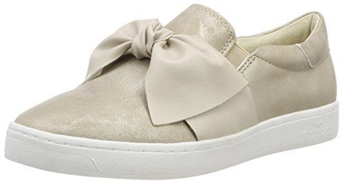 TOM TAILOR Damen 4892617 Sneaker, Gold (Lt Gold), 43 EU