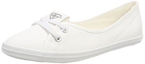 Tamaris Damen 23688 Slipper, Weiß (White), 39 EU