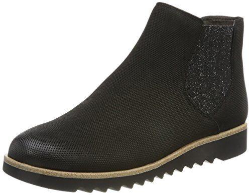 Tamaris Damen 25300 Chelsea Boots, Schwarz, 37 EU