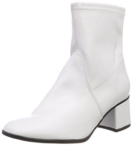 Tamaris Damen 25327 Stiefeletten, Weiß (White 100), 38 EU
