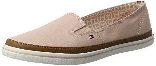 Tommy Hilfiger Damen Iconic Kesha Slip ON Slipper, Pink (Dusty Rose 502), 38 EU