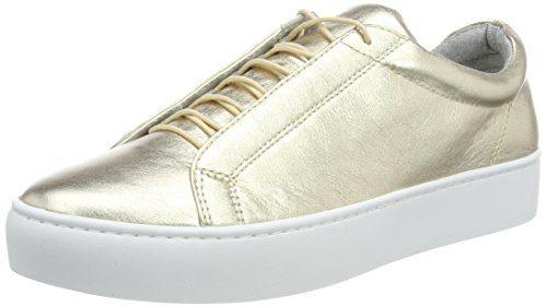 Vagabond Damen Zoe Sneaker, Gold (Light Gold), 40 EU