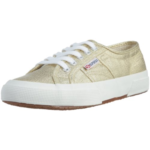Superga Damen 2750 Lamew Sneakers, Gold (174), Gr. 37