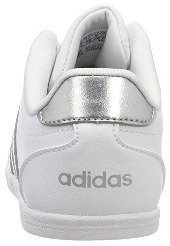 adidas Damen Vs Coneo QT Fitnessschuhe, Weiß (Ftwbla/Plamat/Ftwbla 000), 42 EU