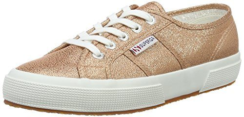 Superga Damen 2750 Lamew Sneakers, Pink (Rose Gold), Gr. 38