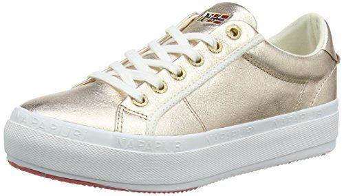 NAPAPIJRI FOOTWEAR Damen Astrid Sneaker, Pink (Rose Gold), 40 EU