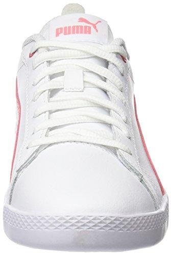Puma Damen Smash WNS V2 L Sneaker, Weiß White-Shell Pink 05, 40.5 EU