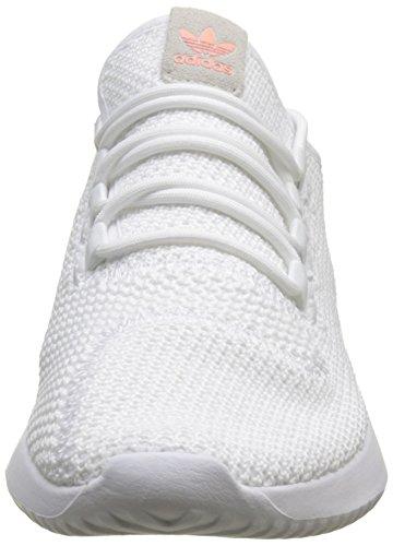 adidas Damen Tubular Shadow Fitnessschuhe, Weiß (Ftwbla/Ftwbla/Negbás 000), 42 EU