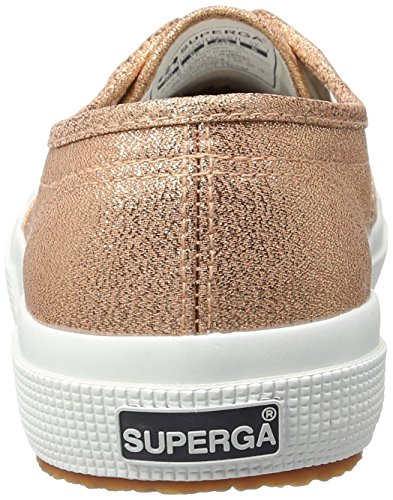 Superga Damen 2750 Lamew Sneakers, Pink (Rose Gold), Gr. 42