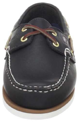 Timberland Damen Classic 2-Eye Mokassin, Blau (Navy Smooth), 37.5 EU