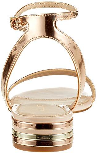 ALDO Damen Izzie Peeptoe Sandalen, Gold (Rose Gold), 38 EU
