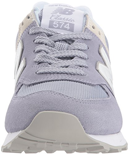 New Balance Damen Wl574EB Sneaker, Mehrfarbig (Lilac), 39 EU