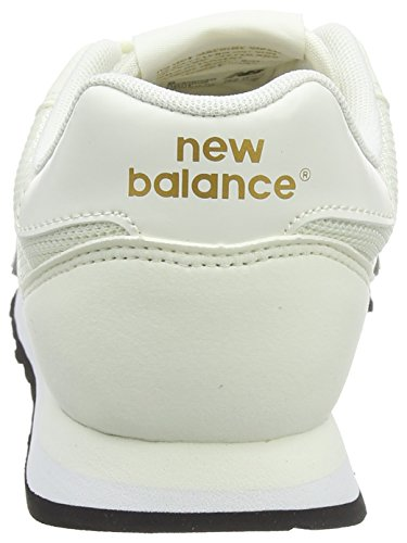 New Balance Damen GW500 Sneaker, Weiß (White/gold/GW500OGO), 40 EU