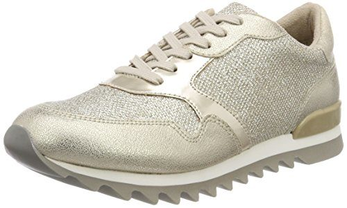 Tamaris Damen 23614 Sneaker, Gold, 36 EU