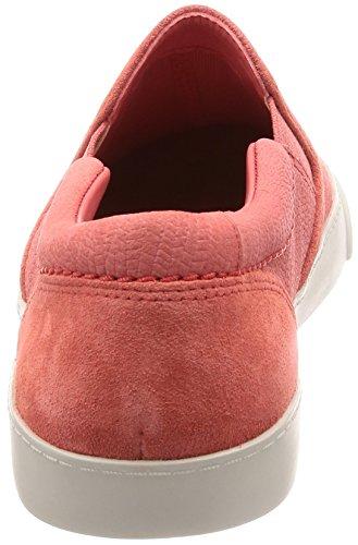Clarks Damen Glove Puppet Slipper, Pink (Coral Nubuck), 42 EU