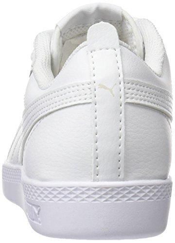 Puma Damen Smash WNS v2 L Sneaker, Weiß White White 4, 40.5 EU (7 UK)
