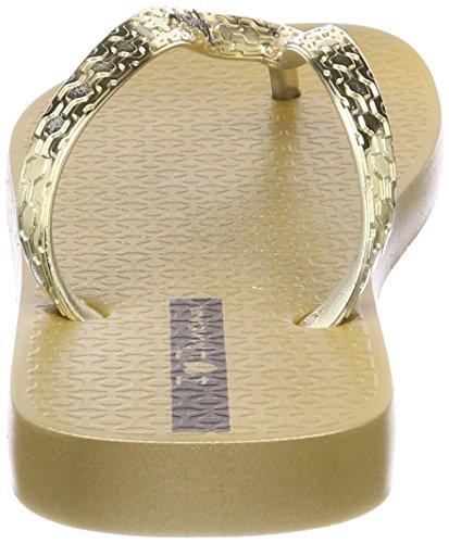 Ipanema Damen Glam Fem Zehentrenner, Gold (Gold), 43 EU