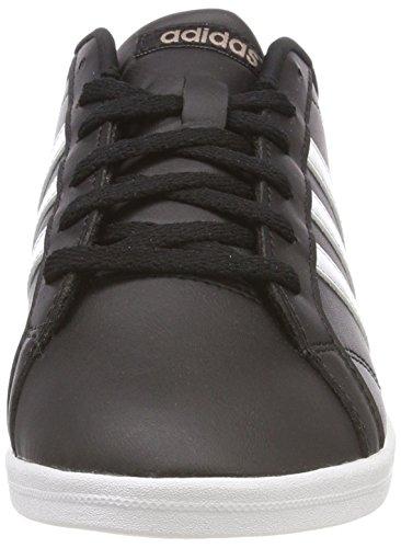 adidas Damen Vs Coneo QT W DB0126 Fitnessschuhe, Schwarz (Negbas/Ftwbla/Grmeva 000), 38 2/3 EU