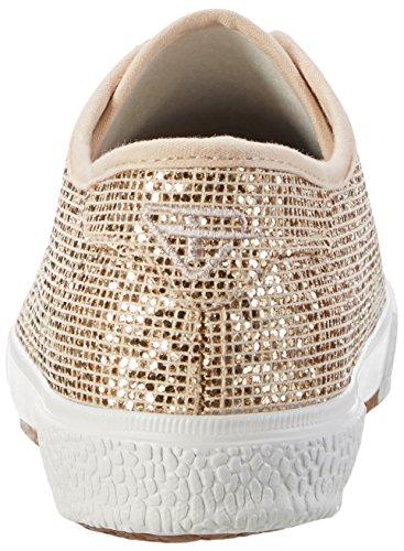 Tamaris Damen 23610 Sneakers, Mehrfarbig (LT.Gold Glam 979), 39 EU