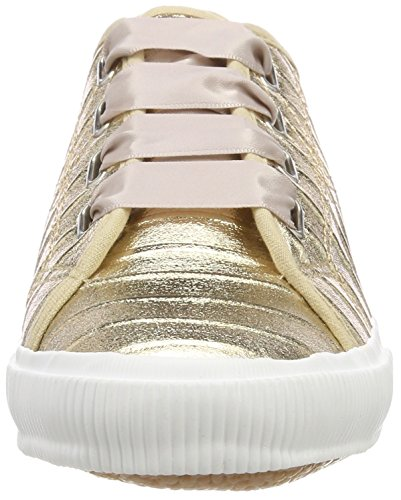 Tamaris Damen 23610 Sneaker, Gold (Gold Metallic), 42 EU