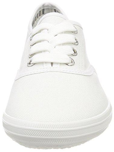 TOM TAILOR Damen 4892401 Schlichter Sneaker, Weiß (White), 41 EU