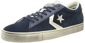 Converse Herren, Pro Leather VULC OX Suede/LTH, Blau (Dress Blue/Off White), 38
