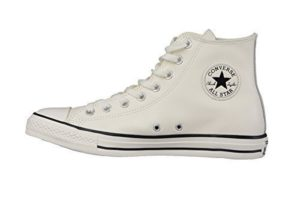Converse Herren Trainer - 157469C High Top Tumble Leather Trainer in Off White