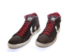 Converse Unisex-Erwachsene Pro Hightop Sneaker, Schwarz, 43 EU