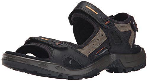 Ecco OFFROAD, Herren Outdoor Sandale, Schwarz (BLACK/MOLE/BLACK50034), 44 EU (10 Herren UK)