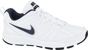 Nike Herren T-Lite Xi Low-Top, Weiß (White/Obsidian-Black-Metallic Silver 101), 44.5 EU