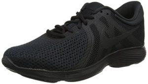 Nike Revolution 4, Herren Laufschuhe, Schwarz (Black/Black 002), 42 EU (7.5 UK)