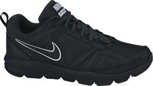 Nike T-Lite XI Herren Hallenschuhe, Schwarz (Black/Black-Metallic Silver 007), 44 EU