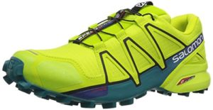 Salomon Herren Speedcross 4 Traillaufschuhe, Grün (Acid Lime/Lime Green/Deep Lake 000), 45 1/3 EU