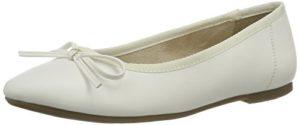 Tamaris Damen 22100 Geschlossene Ballerinas, Weiß (White Matt 108), 38 EU